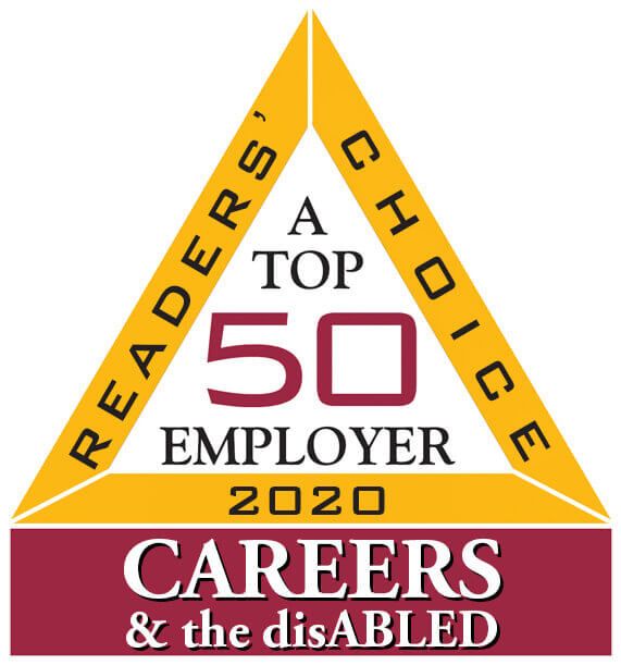 Top 50 Employer for People with Disabilities | CAREERS & the disABLED