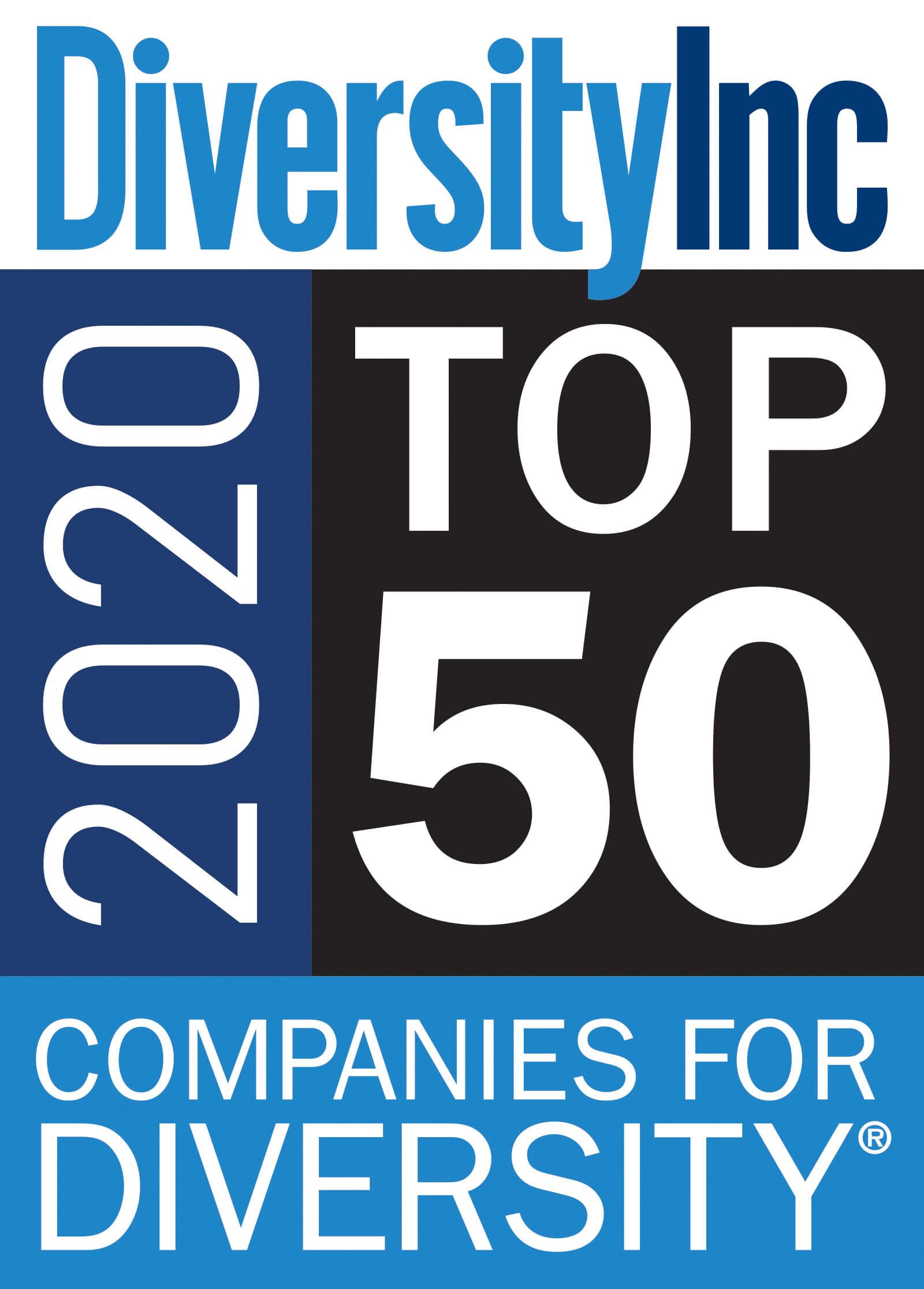 Top 50 Company for Diversity | DiversityInc